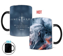 Load image into Gallery viewer, 2019 the last season game of thrones Daenerys magic mug who will become the last king 110z ceramic gift coffee mug cup
