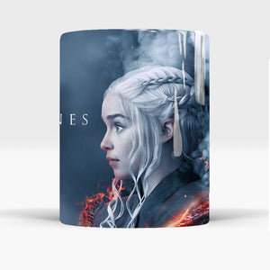 2019 the last season game of thrones Daenerys magic mug who will become the last king 110z ceramic gift coffee mug cup