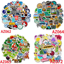Load image into Gallery viewer, 50 PCS Cartoon Yellow Graffiti Stickers For Chidren Toy Waterproof Sticker to DIY Suitcase Laptop Bicycle Helmet Car Decals