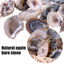 Load image into Gallery viewer, 1pcs Agate Geodes Collection Raw Stones Slice Natural Crystals Halves Healing 1-3.5cm /2.5-5cm