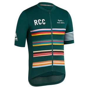 Rapha RCC Pro Team Jersey Mountain Bike Cycling Jersey Bicycle Riding Shirt MTB Road Bike Cycling Shirt Bike Riding Top Casual Riding Apparel