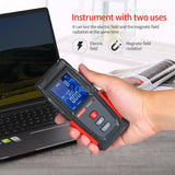 Wintact High Precision Handheld Mini Digital LCD EMF Tester Electromagnetic Field Radiation Detector Meter Dosimeter Tester Counter