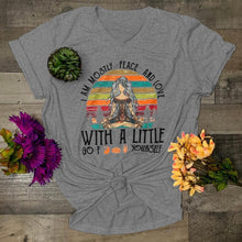 Load image into Gallery viewer, 5 Color Summer New Women Fashion Casual Style Comfy High-queality Short Sleeve T-shirts Cotton Yoga Tops for Women Bohemian Tee Plus Size