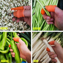Load image into Gallery viewer, Kitchen Washing Vegetables Thumb Knife Finger Cover Slicer Orchard Nail Pick Vegetable Garden Picking Tool