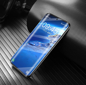 9D Full Cover Glass on Samsung Note 10 Case Note 10 Plus Note 9 Note 8 S10 S10 E S10 Plus A90 A80 A70 A50 Screen Protector Tempered Glass +Back Camera Lens Film