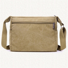 Load image into Gallery viewer, Fashion Canvas Single Shoulder Bag Men Women Unisex Travel Crossbody Bag Outdoor Casual Satchel Vintage Messenger Bags