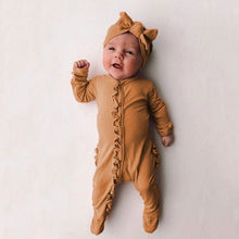 Load image into Gallery viewer, Newborn Baby Rompers Girl Boy Cute Casual Sleepwear Long Sleeve Jumpsuit Infant Romper with Hairband