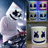 DJ Mask Full Head Helmet LED Cosplay Mask Bar Music Props Need To Assemble-LED DJ Mask Cosplay Costume Accessory Helmet Party Bar Electric Syllable