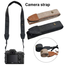 Load image into Gallery viewer, Comfortable Simple SLR Camera Belt For Canon Nikon Digital Micro Single Camera Universal Shoulder Belt