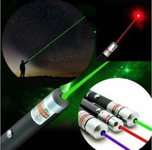 Load image into Gallery viewer, 5MW High Power Green Blue Red Laser Light Pen Powerful Laser Meter Laser Sight Pointer Green Laser Pen