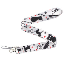 Load image into Gallery viewer, 1pcs cartoon Funny keychain neck strap necklace lanyard Badge ID Lanyards/ Mobile Phone Rope/ Key Lanyard Neck Straps jewelry