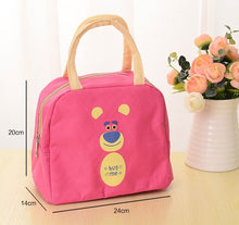 Load image into Gallery viewer, Fashion Insulated Thermal Cooler cartoon Lunch Bag Travel Bag Picnic Carry Tote Cases