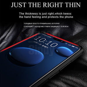 Luxury Ultra Thin Leather Case On The For Samsung Galaxy A10 A20 A30 A40 A50 A70 A80 A90 M10 M20 M30 Soft Silicone Shockproof Case