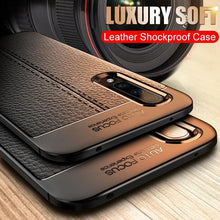 Load image into Gallery viewer, Luxury Ultra Thin Leather Case On The For Samsung Galaxy A10 A20 A30 A40 A50 A70 A80 A90 M10 M20 M30 Soft Silicone Shockproof Case