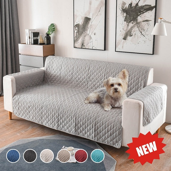 Dog Pets Sofa Cover Washable Removable Towel Armrest Couch Covers Slipcovers Couch  Single/Two/Three Seater