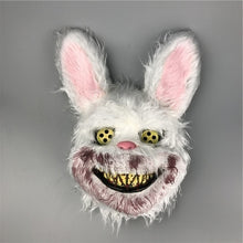 Load image into Gallery viewer, Bloody Rabbit Mask Halloween Horror Masks Masquerade Party Cosplay Scary Mask
