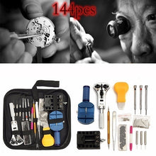 Load image into Gallery viewer, 1/144/147Pcs/Set Watch Repair Tool Kit Pry Screwdriver Clock Watchmaker Tools Parts relojoeiro