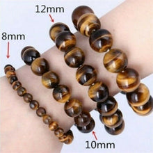 Load image into Gallery viewer, 6/8/10/12mm Natural Blue Tiger Eye Bracelets Stone Beads Charm Jewelry