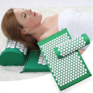 Multifunction Massage Pillow Pain Stress Relief Acupressure Mat Yoga Pad