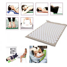 Load image into Gallery viewer, Multifunction Massage Pillow Pain Stress Relief Acupressure Mat Yoga Pad