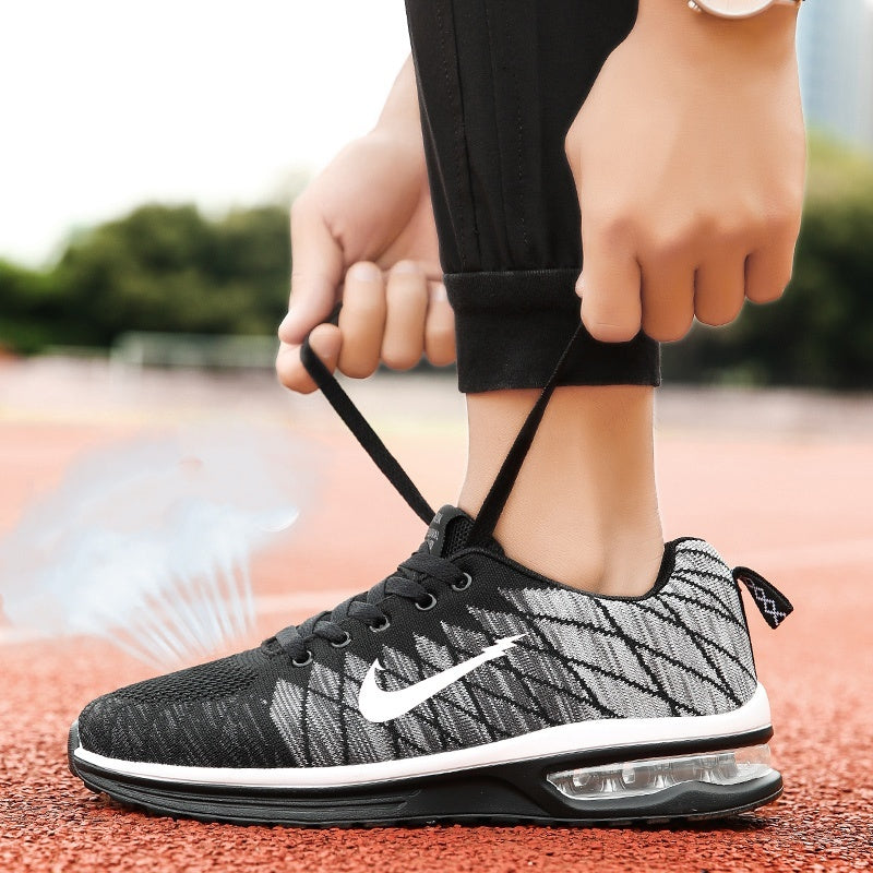 Men and Women Air Cushion Jogging Sneakers Breathable Mesh Sports Shoes Running Shoes Casual Shoes for Men /Women