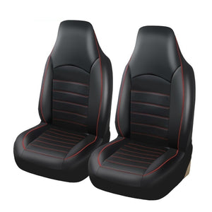 Universal PU Leather High Back Bucket Car Seat Covers Set Auto Interior Car Seat Cushion Seat Protector