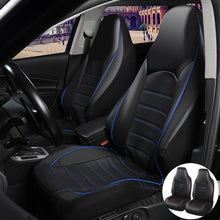 Load image into Gallery viewer, Universal PU Leather High Back Bucket Car Seat Covers Set Auto Interior Car Seat Cushion Seat Protector