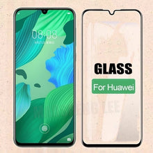 Load image into Gallery viewer, 9D Toughened Full Curved Protective Glass For Huawei P30 Pro Mate 20 Pro Screen Protector For Huawei P20 Pro P20 Lite Mate 20 Lite P20 P30 Mate 20 etc Tempered Film Verre Trempe