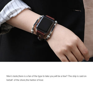 Elaborate Handiwork Bands With Box Pack For Women, Adjustable Replacement Watch Band For Apple Watch 38mm 42mm