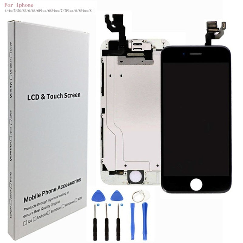 LCD Display Screen Replacement Repair Kits Screen Replacement for IPhone 5/5s/se/6/6s/6 Plus/6s Plus/7/7 Plus/8/8 Plus