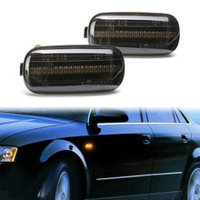 Load image into Gallery viewer, Pair Side Marker Turn Signal Light LED Lamp For Audi A3 A4 S4 B6 B7 A6 C5 TT A8