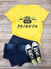 Load image into Gallery viewer, 2019 Women Fashion Summer Casual Short Sleeve T-shirt Stranger Things Central Perk Friends Shirt Coffee T-Shirt Friends Gift