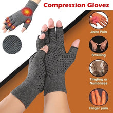 Load image into Gallery viewer, Arthritis Gloves Touch Screen Gloves Anti Arthritis Therapy Compression Gloves and Ache Pain Joint Relief Promote Circulation