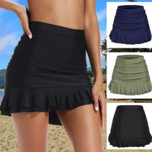 Load image into Gallery viewer, Bathing Suit Beach Skirt 2019 Summer Women Fashion Solid Color SwimDress Swimsuit Trunks Female Vacation High Waist Swim Shorts Skirt Swimming Bikini