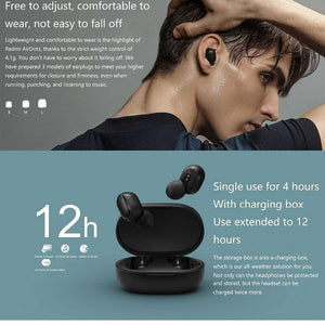 Xiaomi Redmi Airdots TWS  Bluetooth 5.0 Earbuds Wireless Headphones with Mic Sports Headset DSP Noise Reduction AI Control with Charging Box
