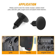Load image into Gallery viewer, Nylon Car Fastener Rivet Pushpin Retainer Fender Grille Clips