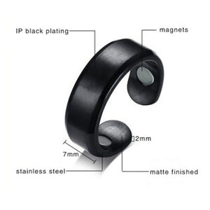 Stainless Steel Magnetic Rings Medical Magnetic Weight Loss Ring Slimming Tools Fitness Reduce Weight Ring