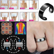 Load image into Gallery viewer, Stainless Steel Magnetic Rings Medical Magnetic Weight Loss Ring Slimming Tools Fitness Reduce Weight Ring