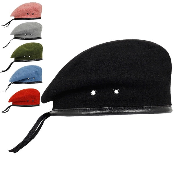 Solid color beret outdoor fashion warm beret colorful hip hop casual hat