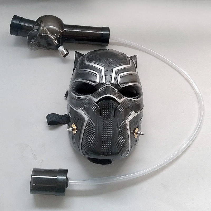 Shisha Hookah Gas Mask Kit Hookah Water/Silicone Flexible Pipe Mask For Party
