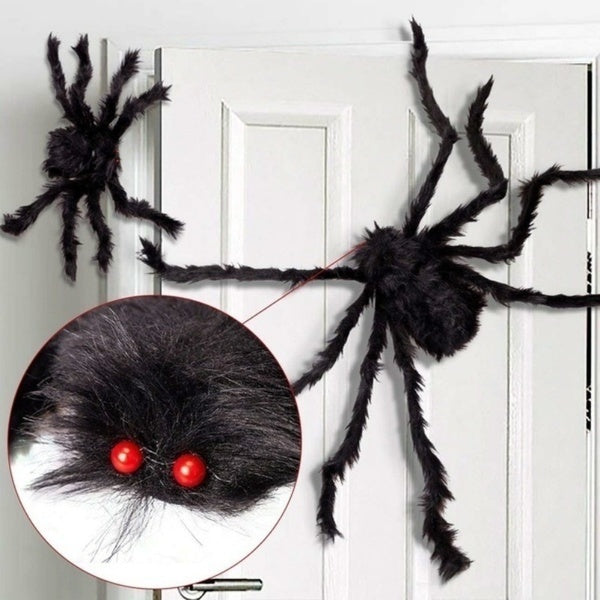 Halloween Hanging Decoration Giant Spider Decor House Haunted Outdoor Yard Halloween Spider Decor