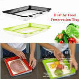 Healthy Food Preservation Tray Storage Container Set Home Kitchen Tools