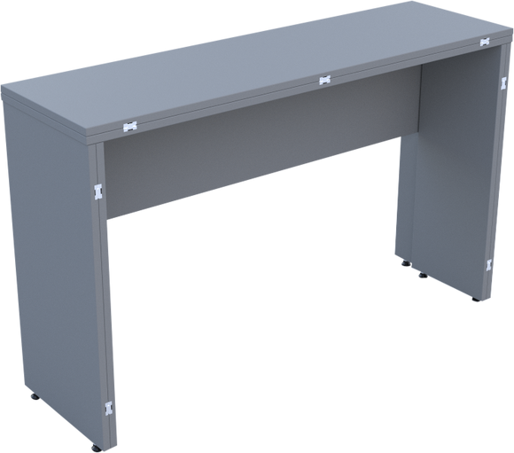 Folding Console Table in Dust Grey MFC