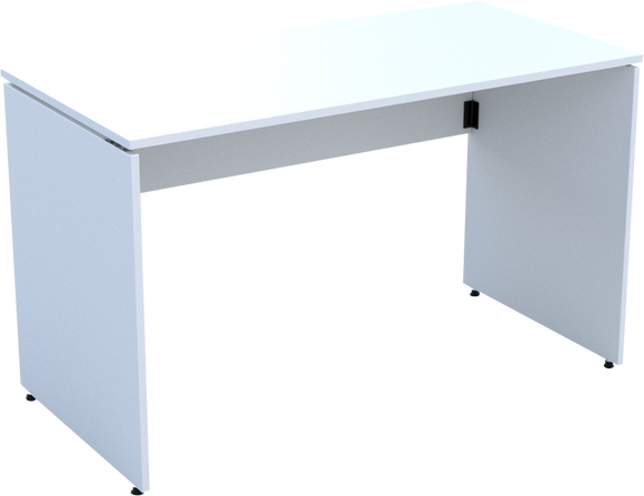 Folding Desk in White MFC