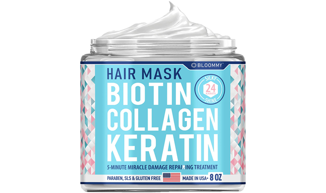 Biotin Collagen Keratin Treatment FREE Shipping + 67% on 2nd