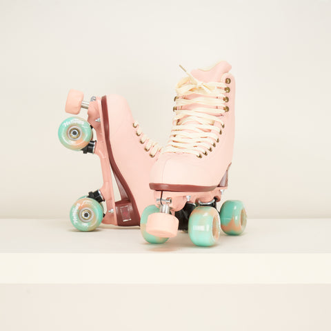 Chaya Melrose Elite Rollerskates - Dusty Rose Pink