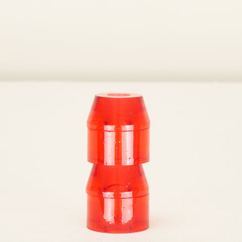 Clouds Cosmic Barrel - Conical Bushing 79a Clear Red