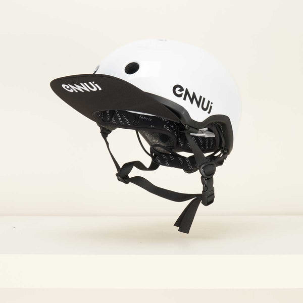 Ennui Elite Helmet - White with Peak