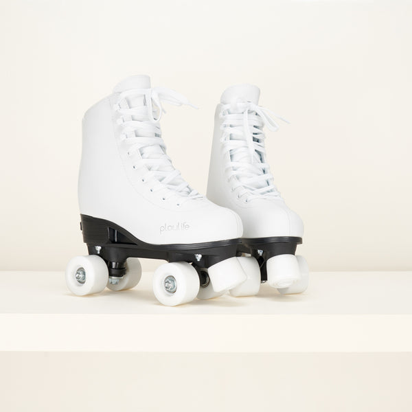 Playlife Kids Classic White Adjustable Skates