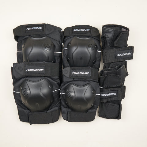 Powerslide Standard Series Black Pad Set